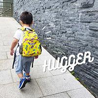 HUGGER幼童背包 無毒輕量無負擔 兒童背包推薦