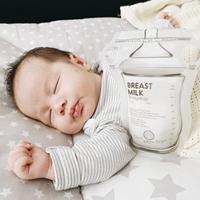 【哺乳好物】分享心得:BAILEY感溫母乳儲存袋和奶粉儲存袋、miYim有機棉安撫玩具