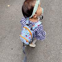 不怕小孩暴衝亂跑|HUGGER防走失背包|可拆卸牽繩&質感防潑水雨天也不怕