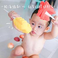 [好刷推薦] 日常曬嬰小紀錄 + 開箱BAILEY 鉑金矽膠海綿奶瓶刷
