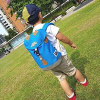 HAPPIPLAYGROUND街頭探險家兒童背包,輕量酷潮的兒童背包