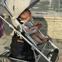 育兒好物體驗:工藝品般優雅-丹麥SEED時尚推車Papilio