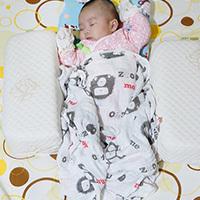 紗布包巾推薦-mezoome純棉紗布包巾,讓寶寶安穩熟睡的嬰兒包巾
