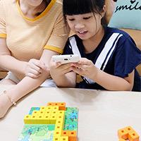開箱《韓國AniBlock積木拼圖》好玩桌遊搭配AR小遊戲×玩出聰明好腦力