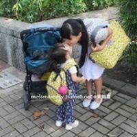 【親子穿搭】英國 Hugger 親子包(媽媽包&幼童背包)