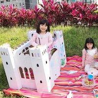 TEKTORAD波蘭紙城堡 不需剪黏就能組裝的DIY玩具