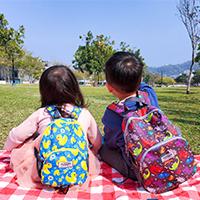 【HUGGER】 幼童背包 / 防走失背包,最適合孩子使用的後背包!