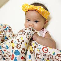 嬰兒寢具超推款:以色列有機棉mezoome四季被,時尚到媽媽都想搶去蓋!
