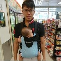育兒好物|bitybean膠囊背巾,外出旅遊第一首選