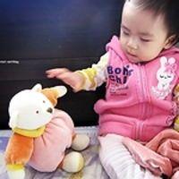 miYim【安撫巾系列】【睡覺時間熊系列】,有機棉娃娃.寶貝安心玩!