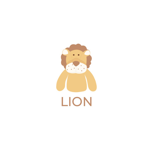 寶寶棉柔連身衣 獅子LION
