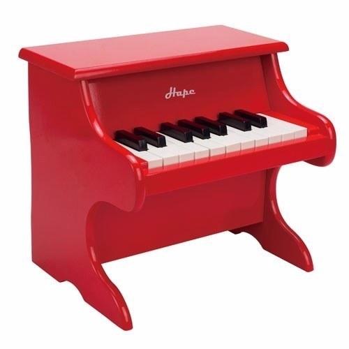 德國Hape愛傑卡 音樂小鋼琴(紅色)