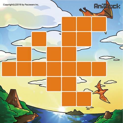 AniBlock安尼博樂 AR積木拼圖 恐龍圖卡擴充包