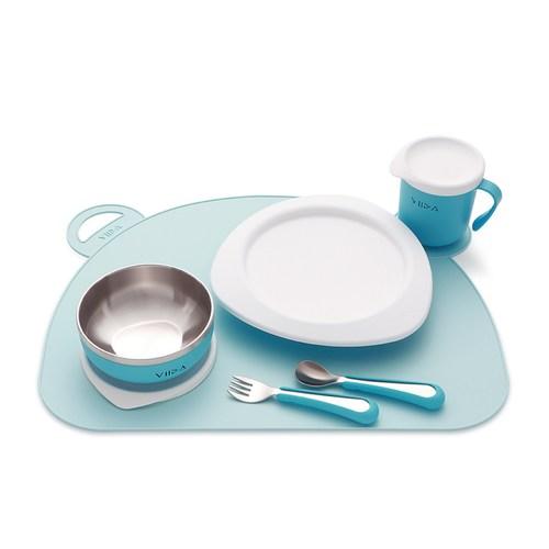 VIIDA Joy 防滑矽膠餐墊- 晴空藍