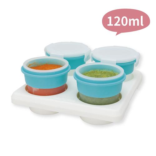 2angels矽膠副食品儲存 3件組 (15ml+60ml+120ml)