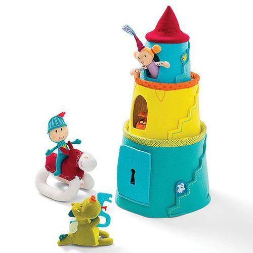 Lilliputiens-小飛龍城堡遊戲組