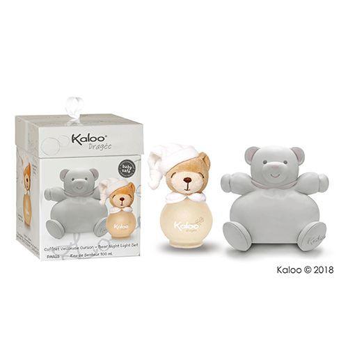 Kaloo嬰童無酒精香氛- 莉露熊熊夜燈香氛禮盒(大)100ml