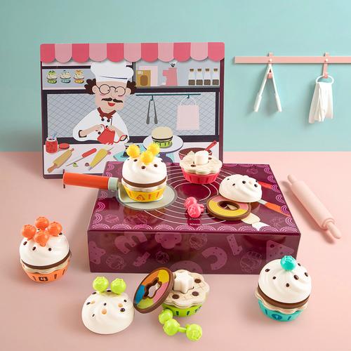 Top Bright數字123杯子蛋糕店