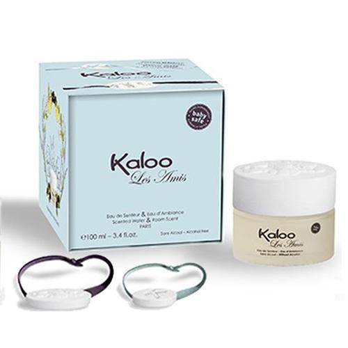 Kaloo嬰童無酒精香氛- 布魯熊香氛+浴巾禮盒100ml