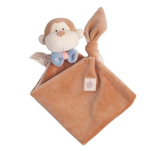 miYim有機棉安撫巾 布布小猴