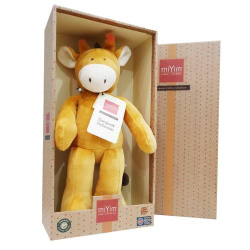 miYim有機棉安撫娃娃32cm 傑瑞長頸鹿