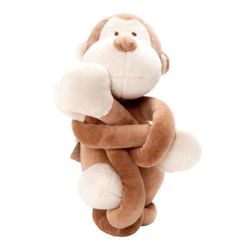 miYim有機棉瑜珈娃娃 布布小猴