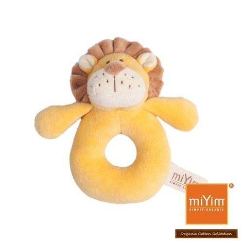 miYim有機棉手搖鈴 里歐獅子