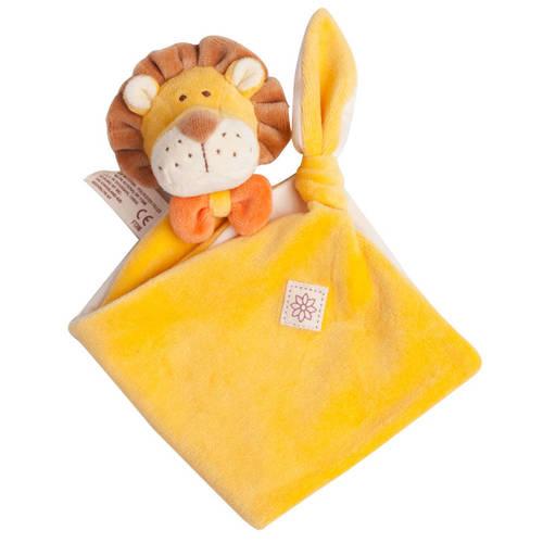 miYim有機棉安撫巾 里歐獅子