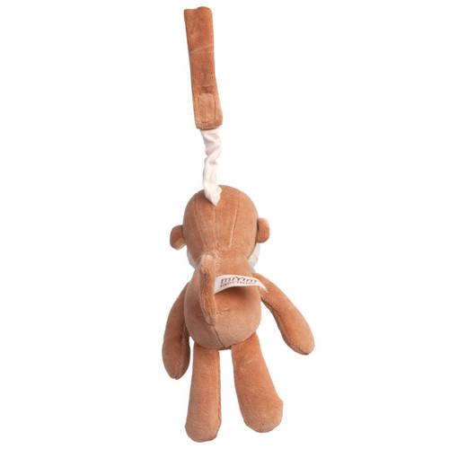 miYim有機棉吊掛娃娃 布布小猴