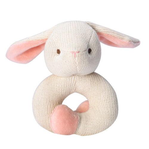 miYim有機棉固齒手環 兔兔