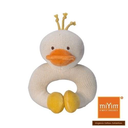 miYim有機棉固齒手環 小鴨