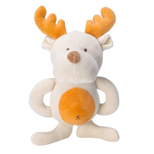 miYim有機棉固齒娃娃禮盒 麋鹿