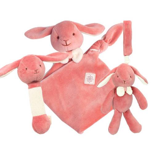 miYim有機棉安撫玩具禮盒組 邦妮兔兔