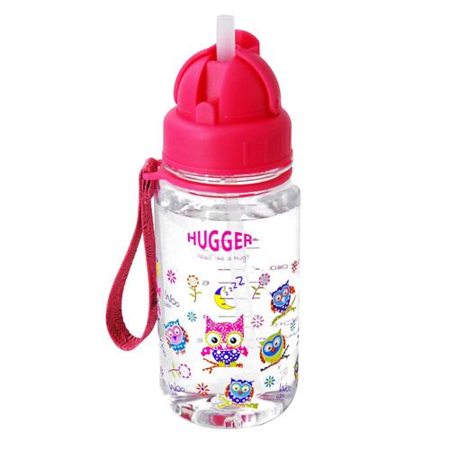 Hugger吸管水壺 貓頭鷹