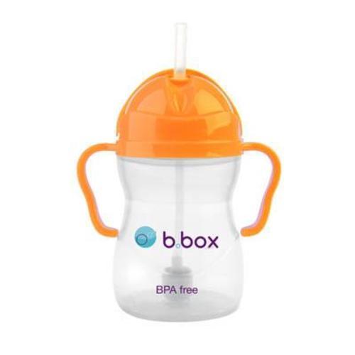 b.box 防漏學習水杯 亮橘