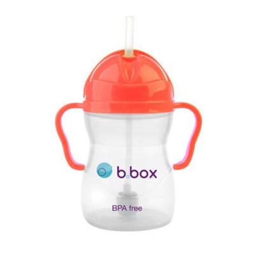 b.box 防漏學習水杯 橘紅