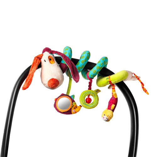 Lilliputiens-狗狗捲捲吊飾