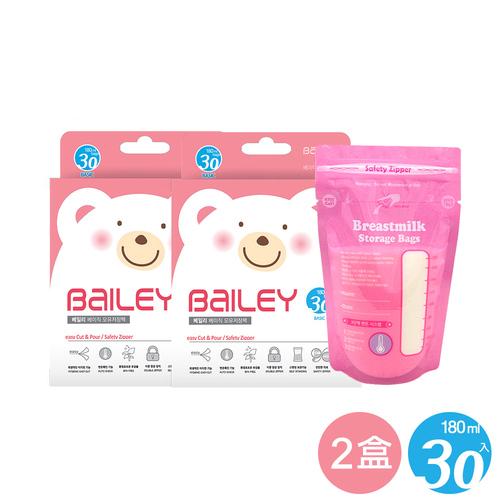BAILEY感溫母乳儲存袋(基本型) 30入 2盒
