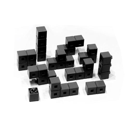 AniBlock安尼博樂 AR積木拼圖 單色積木 (黑色)