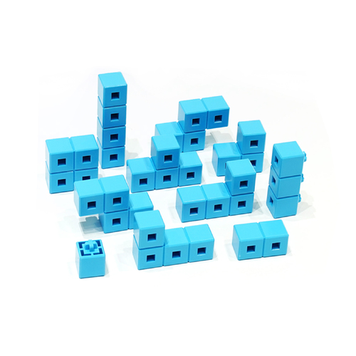 AniBlock安尼博樂 AR積木拼圖 單色積木 (藍色)