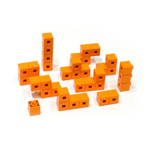 AniBlock安尼博樂 AR積木拼圖 單色積木 (橘色)