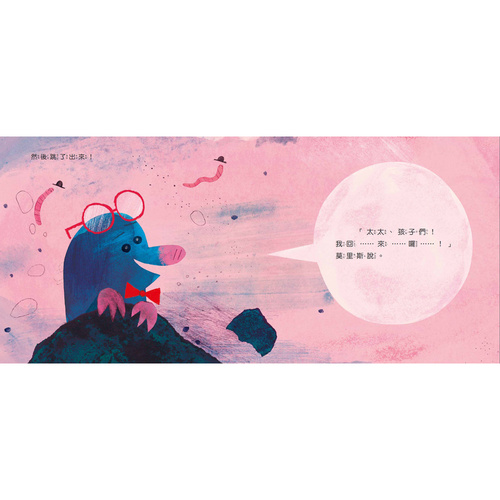 【幼童繪本】鼴鼠太太,我回來囉! (維京國際出版)