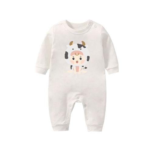 寶寶棉柔連身衣 牛寶寶