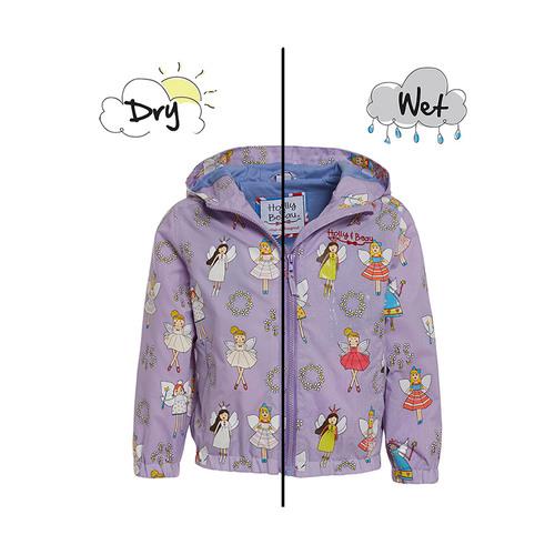 HOLLY & BEAU變色雨衣 紫色小仙女