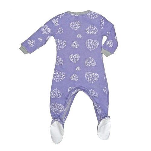 ZippyJamz有機棉寶寶拉鍊連身服 夢幻之心