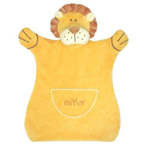 miYim有機棉手偶安撫巾 里歐獅子