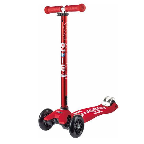Micro Maxi Deluxe 兒童滑板車 奢華版 (紅色)