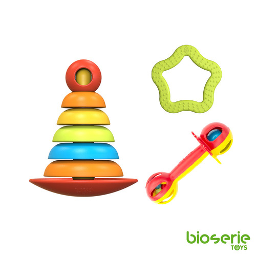 bioserie Toys 0-3歲玩具超值五件組