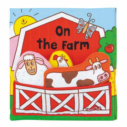 K's Kids有趣的立體農場布書