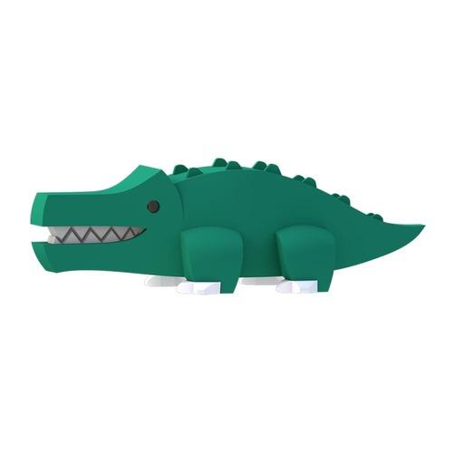 HALFTOYS 3D動物系列 鱷魚CROCODILE